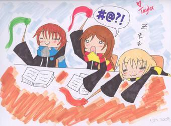 HP - Classes by anime-manga-fan