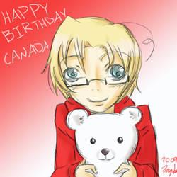 Hetalia - Canada Day by anime-manga-fan