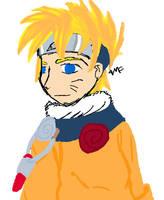 Naruto - Coloured by anime-manga-fan
