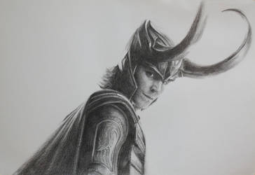 Loki: Study no. 2 by vee209