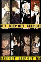 D.Gray-MAN :: Keep out by zefiar