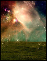 Sky Fantasy Premade BG Stock by RavenMaddArtwork
