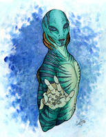 Abe Sapien by Cyber-Ghost