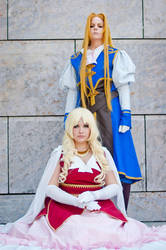 The Vision Of Escaflowne - Allen and Marlene by xXHachikoXx