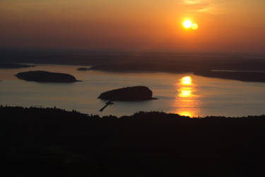 Sunrise in Acadia by Popstudios