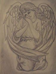 Angel by Gray-Gloomy-Glorious