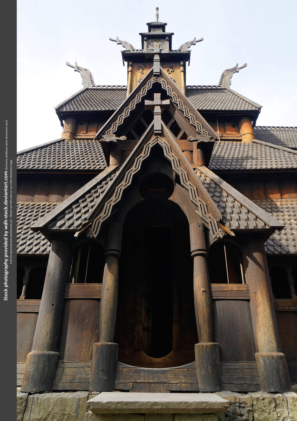 Stave Church II by WDH-Stock