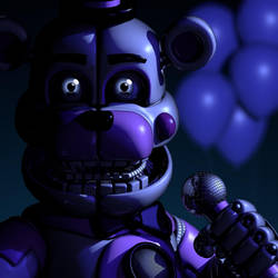 (FNAF C4D) Funtime Freddy icon by MoisoGS