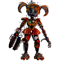 (FNAF C4D) Scrap Baby by Endyarts by MoisoGS