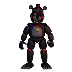 (FNAF C4D) Lefty by Darlicious by MoisoGS