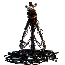 (FNAF C4D) Molten Freddy by Endyarts by MoisoGS