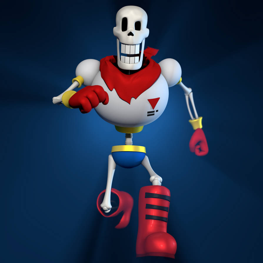 Papyrus model by me uwu by MoisoGS