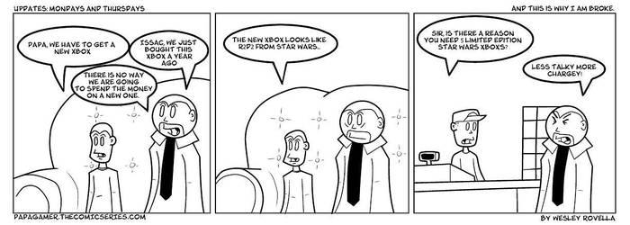 Star Wars Xbox by zeronifty