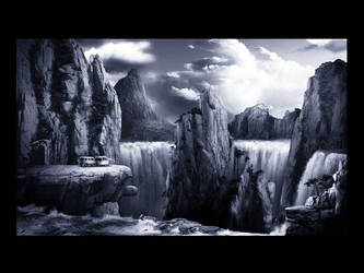 Water Fall Concept by KeithSeggie