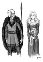 Jotnar (Frost Giants) by GracelingSDG