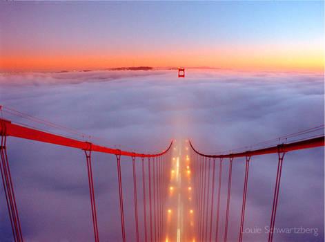 The Golden Gate to Heaven by louieschwartzberg