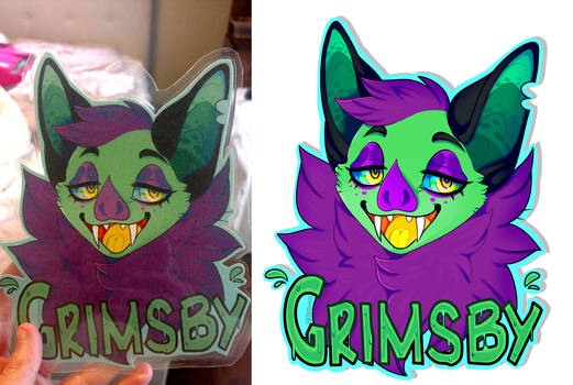 Badge Commissions PRE-ORDER by ratatouiIIe