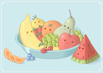 Sweet Fruits by Jotunnr