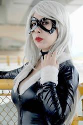 black cat cosplay by ary-neko