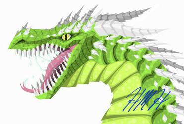 Green Dragon by FineAsWine99