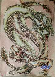 Chinese Dragons by FineAsWine99