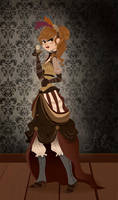 Steampunk Chick by liliribs