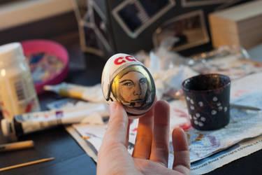 Yuri Gagarin easter egg by prettyfuzzy