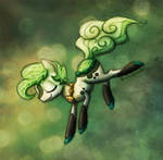 Dive Into Green by Rainspeak