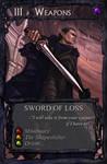 Card art: Sword of Loss by BATTLEFAIRIES
