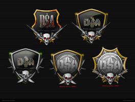 Death Skull Army Logo by jnusjnus