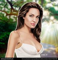 Angelina Jolie by patricktoifl