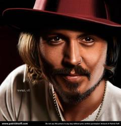 Johnny Depp by patricktoifl