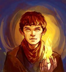 Merlin by Anaeolist