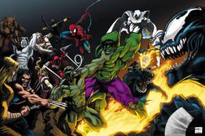 Marvel Melee by RossHughes