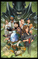 Aliens 11x17 by RossHughes