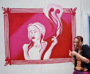 Cig Stencil by MsVictoria