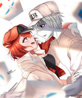 Cells at Work Fanart by Chiinyan