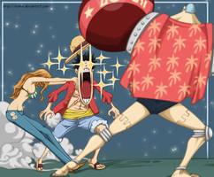 One piece: Luffy Nami Franky by ioshik