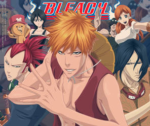 Bleach-One Piece by ioshik