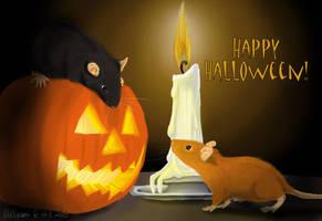 Happy halloween 2010 by fiffiluren