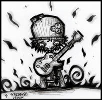 Kid And His Guitar - Request by SinclairStrange