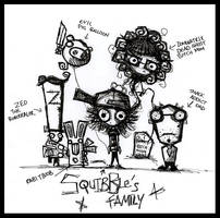 Scribbles: Concept Family by SinclairStrange