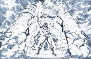 He-Man, with the powers of Grayskull. by Axel-Gimenez