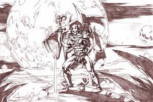 Skeletor - Evil Lord of Destruction. by Axel-Gimenez