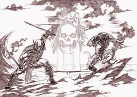 The Mercenaries. by Axel-Gimenez