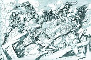 Battle at Darksmoke! by Axel-Gimenez