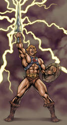 He-Man - By The Power Of Grayskull! by Axel-Gimenez