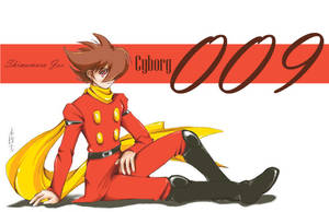 Cyborg 009 by tomuyu