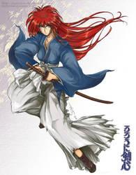 - Rurouni Himura - by tomuyu