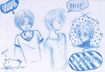 Sketchbook #1 by DredaSM